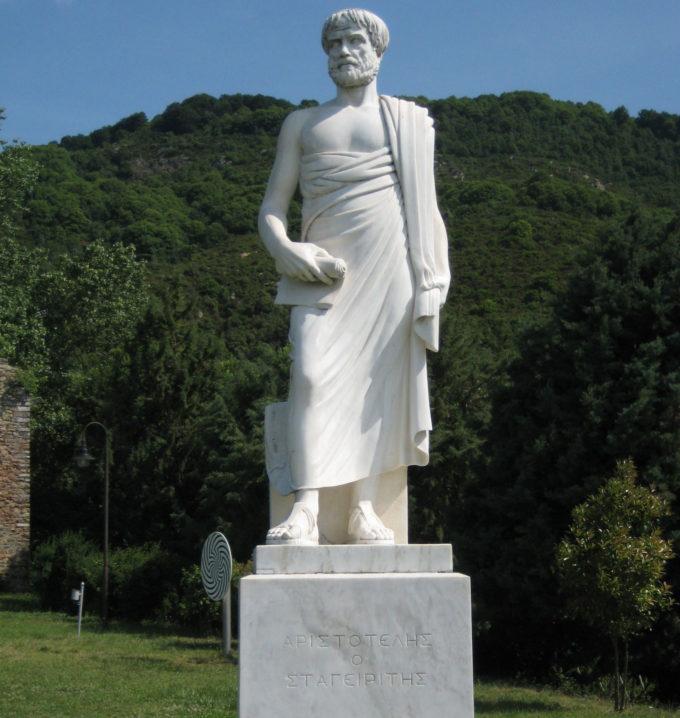Estàtua d'Aristòtil a Estagira